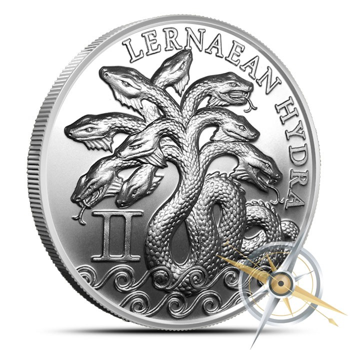 Lernaean Hydra Final Mintage Released 12 Labors Of Hercules