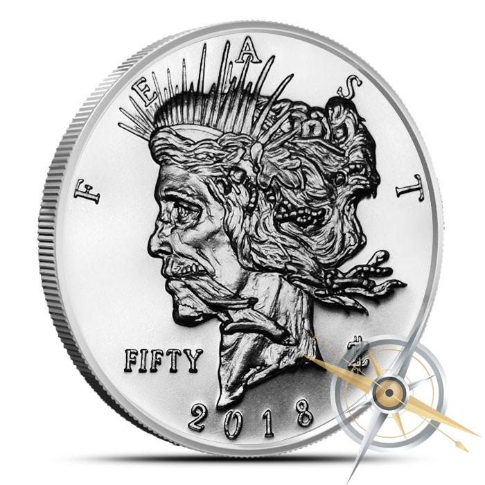 Feast Dollar Bullion Mintage Released Zombucks 174