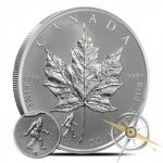 1 oz Canadian Silver Maple Bigfoot Privy