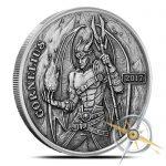cornelius silver round