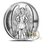 Theodosia Silver Round