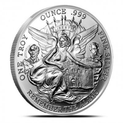 Provident Metals Texas Commemorative silver coin
