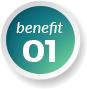 benefit number 1