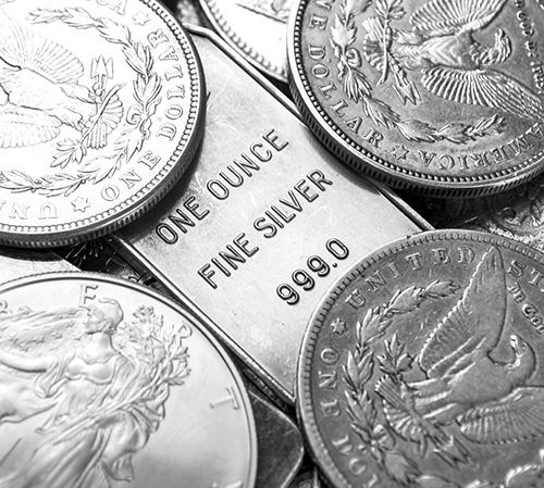 one ounce fine silver
