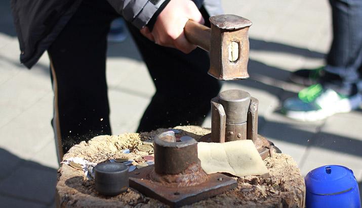 creating a coin manually