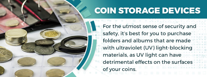 Coin Storage Devices