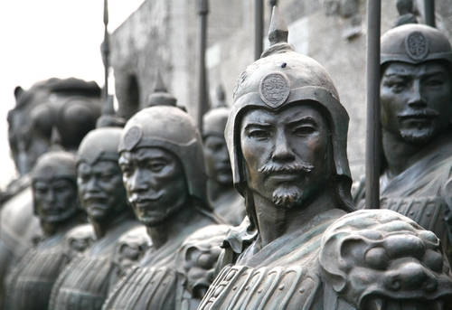 Terracotta Army Sculpture