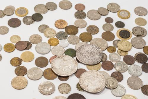 Vintage collectible coins