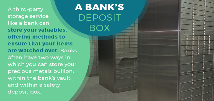 a bank's deposit box quote