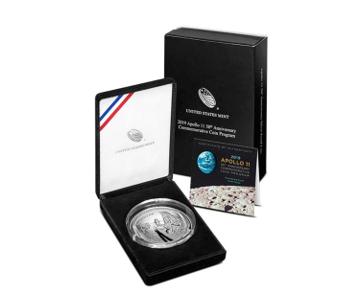 apollo 11 coin collector set