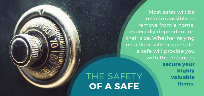 the safety of a safe graphic