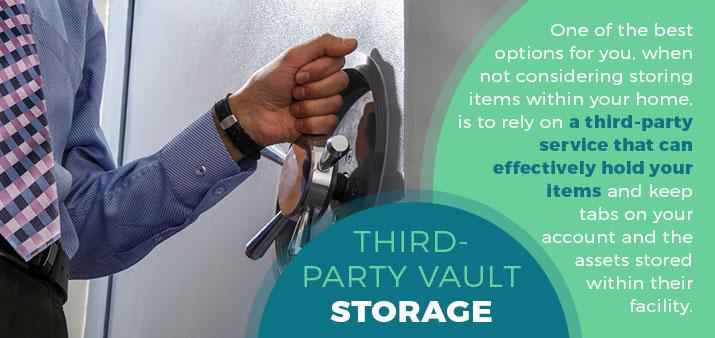 third-party vault storage quote