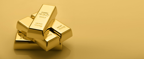Gold bullion stack